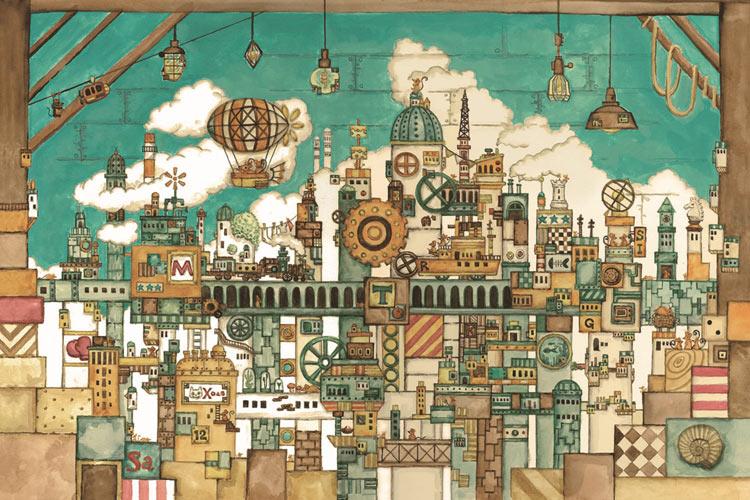 屋根裏部屋のネズミの王国 1000ピース ジグソーパズル