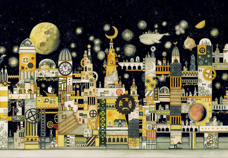 月の文明 300ピース ジグソーパズル