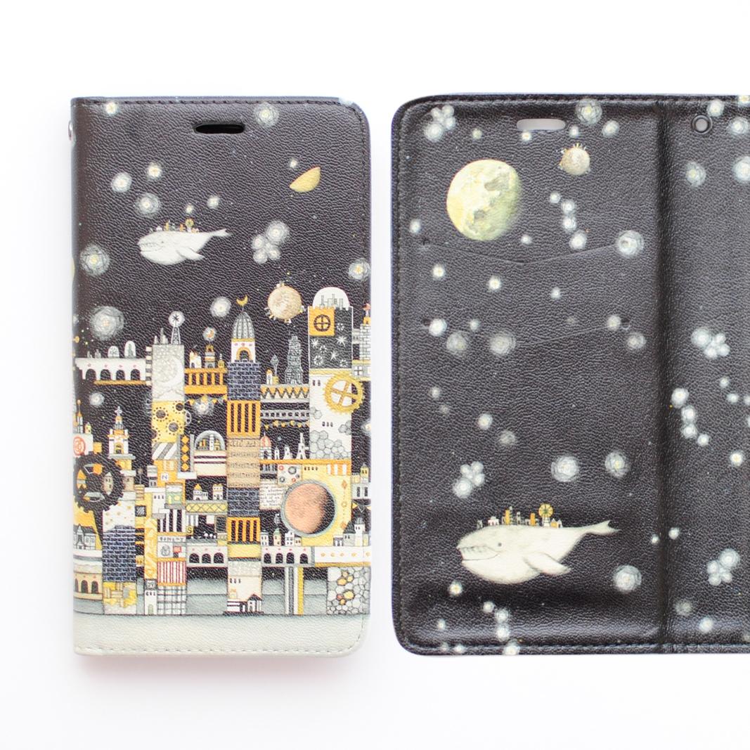 「月の文明」iPhone1「月の文明」iPhone11・11pro・XR・MAX手帳型スマホケース【内側デザイン入り、ベルトなし】1・11pro・XR・MAX手帳型スマホケース【内側デザイン入り、ベルトなし】