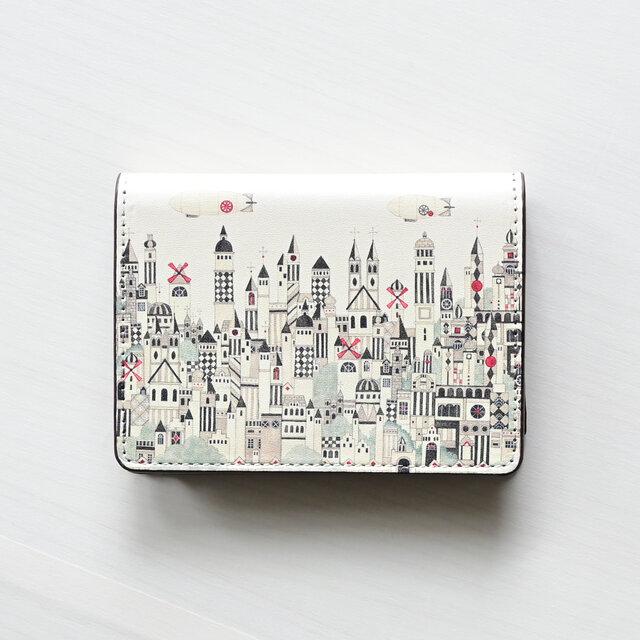 カードケース「モノクロームの街」