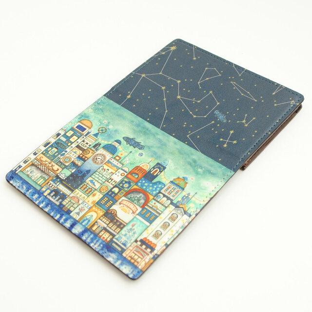 カードケース「星降る夜の街」