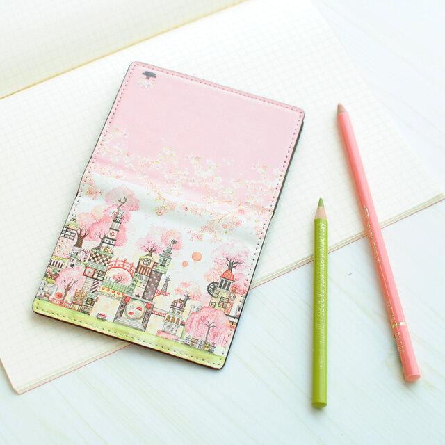 カードケース「桜町三十四番街」