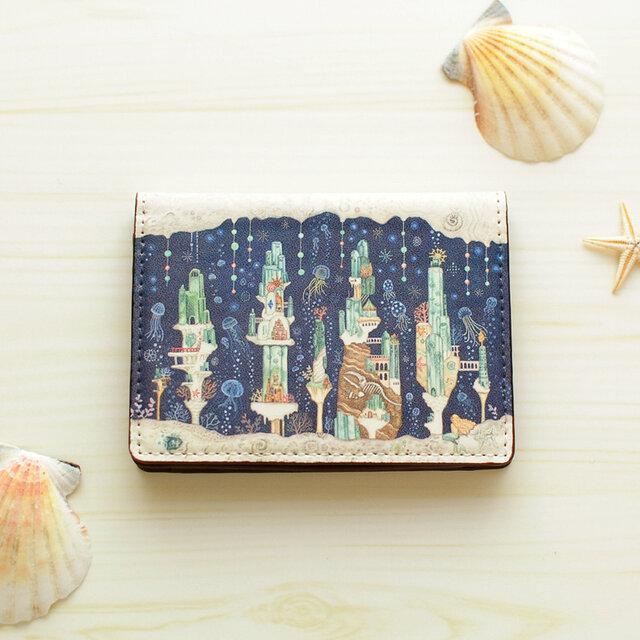 カードケース「海月とアクアマリンの楽園」