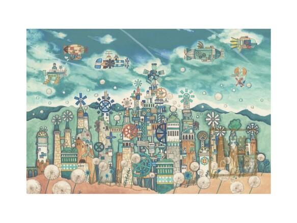 ポストカード4枚セット13「風の文明」