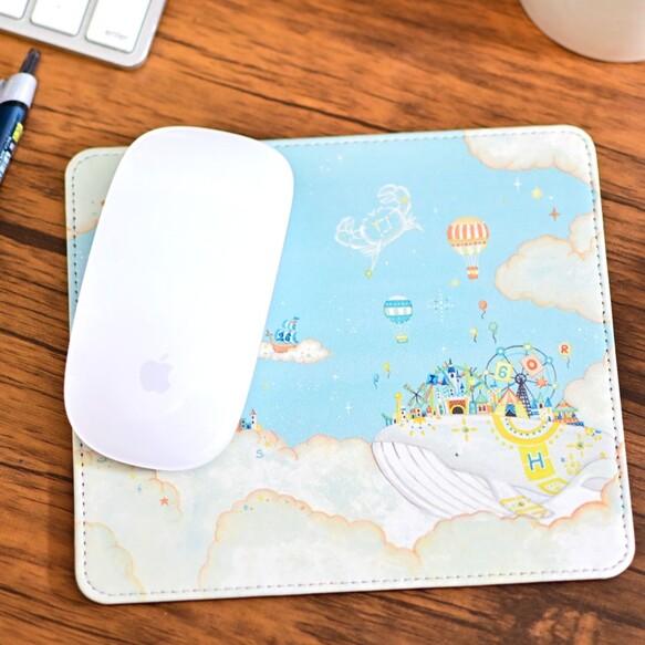 マルチパッド「白クジラの遊園地」マウスパッド