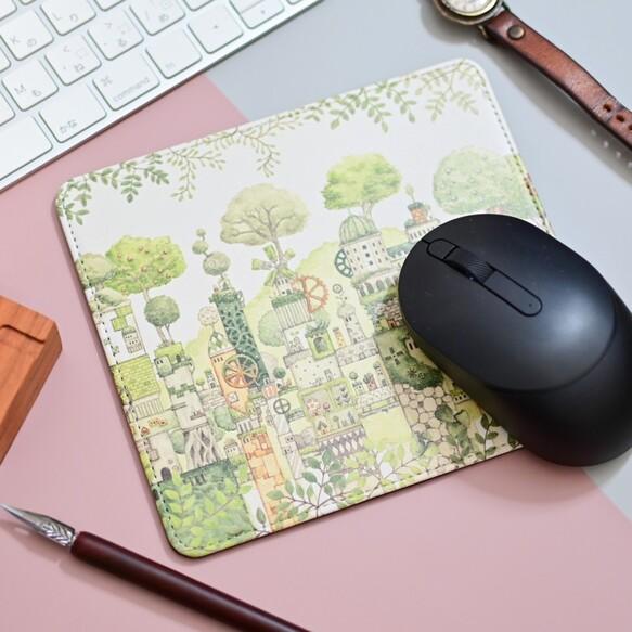 マルチパッド「緑の文明」マウスパッド