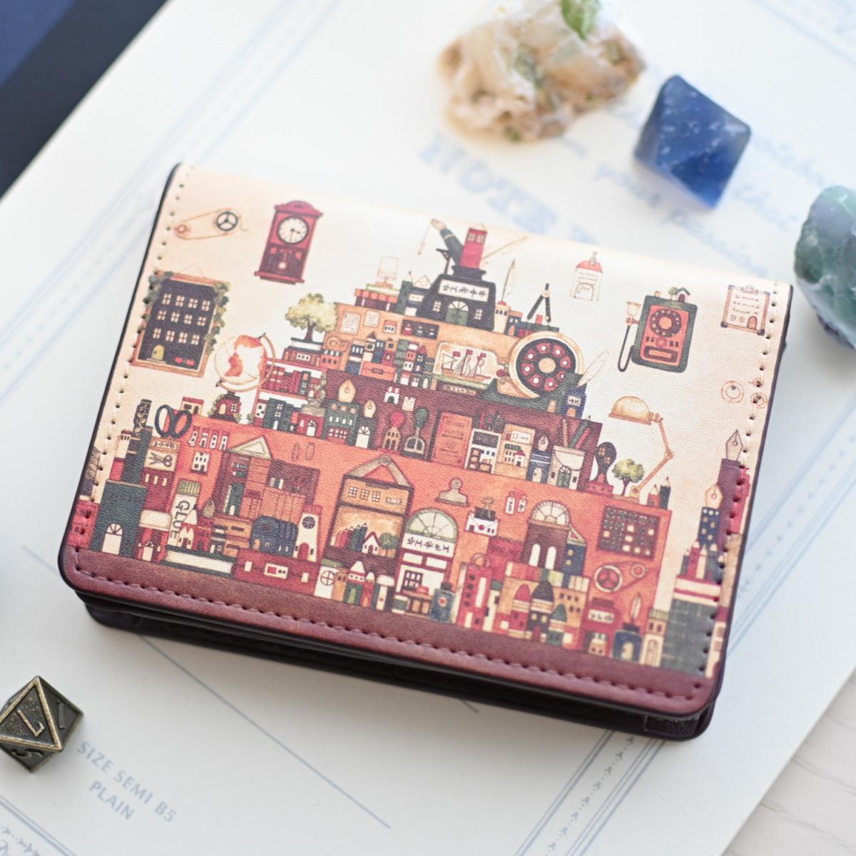 カードケース「文房具の王国」