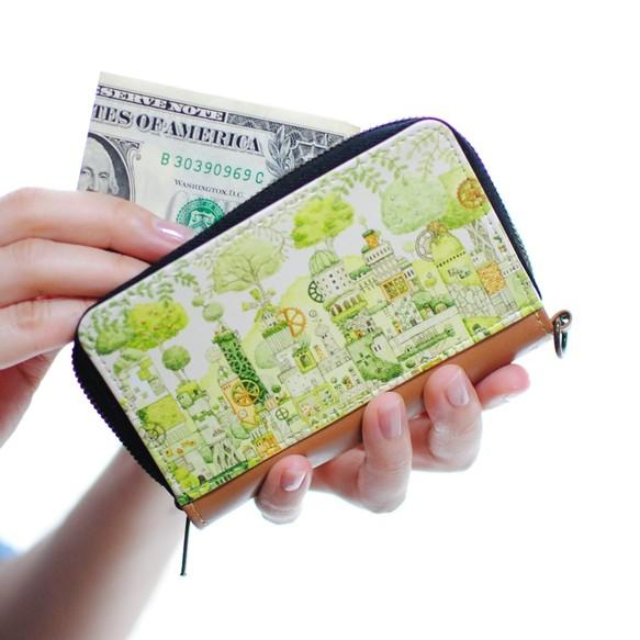 ミニコイン&パスケース「緑の文明」