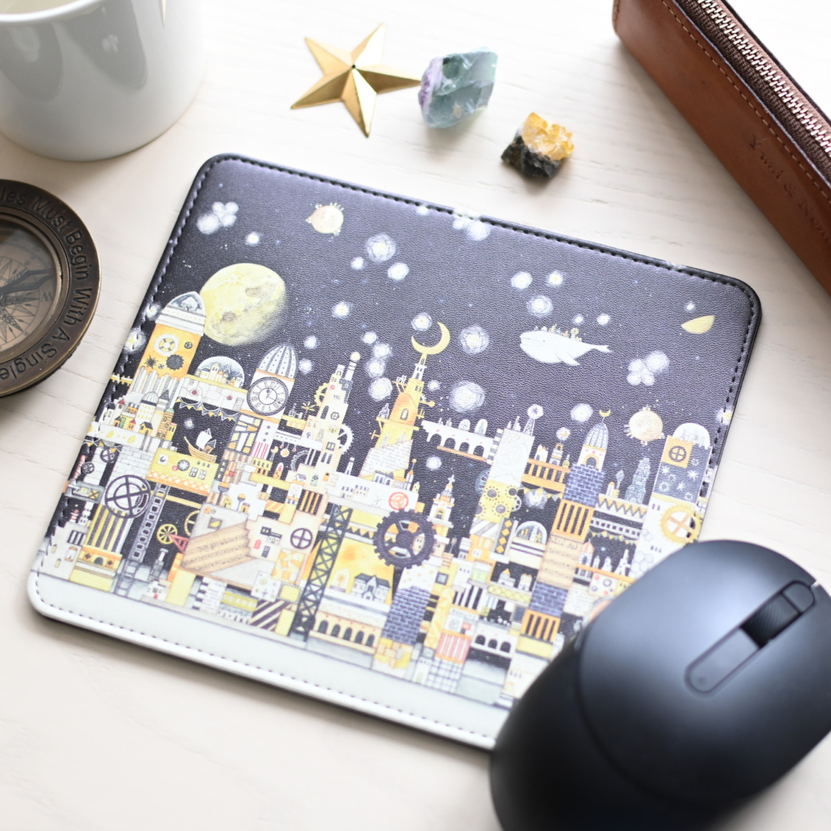 マルチパッド「月の文明」マウスパッド